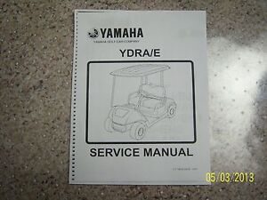 yamaha golf cart repair service manual g29 2007 2010 on cd gas and rh ebay com Yamaha Gas Golf Cart Governor Yamaha G2 Golf Cart Manual