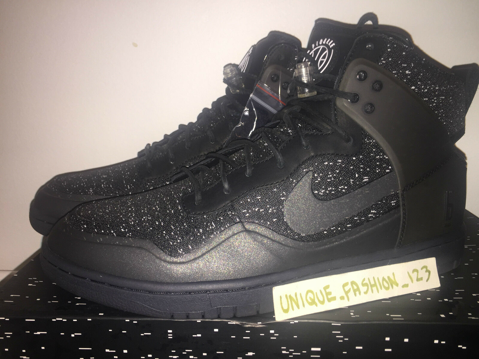 NIKE DUNK LUX HIGH PIGALLE PARIS PPP US 11 SP HI BLACK HYPERFUSE Special limited time