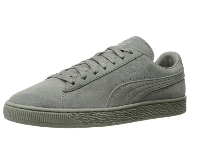 Comfotable Puma Men's Suede Classic Tonal Shoes Off White