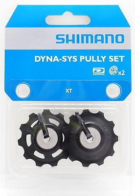 Shimano SLX M7000 M663 10 Speed Upper//Lower Derailleur Pulley Set Bike