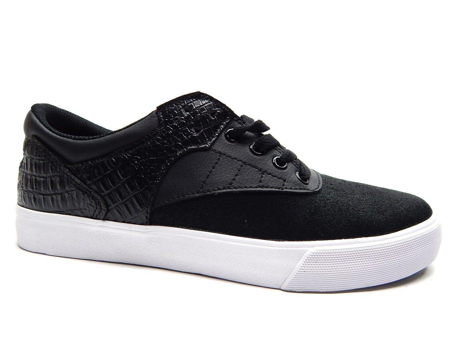 SUPRA GRIFFIN negro SNAKE blanco MEN zapatos Talla 10, 10.5 & 12