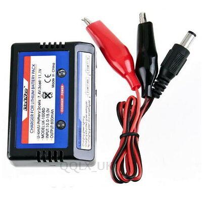 7.4v 11.1v LiPo RC Battery AKKU Balance Charger 2s 3s 2-3S 2 CELL - UK seller