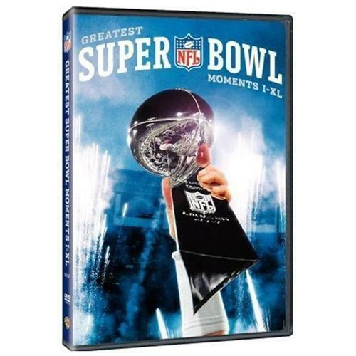 1 of 1 - NFL Greatest Superbowl Moments I -XL (DVD, 2006)