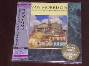 Van Morrison Live at Grand Opera House JAPAN MINI LP SHM CD SEALED BRAND NEW