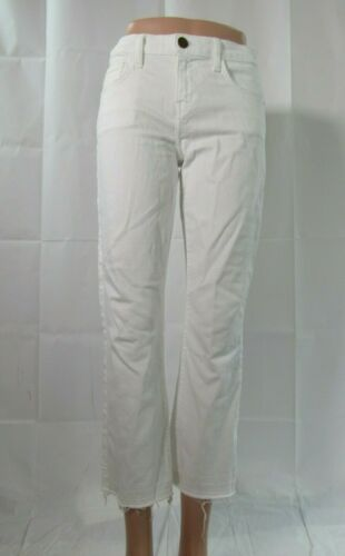 Elliott Huidige Frayed White maat Jean 26 p1T6Rq