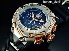 Invicta Reserve 56mm Thunderbolt Chronograph Watch 21362 Rose Gold 1-slot Case
