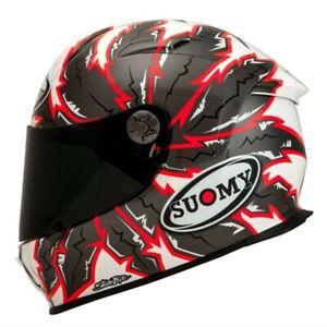 SUOMY-SR-SPORT-BRAVE-Motorbike-Motorcycle-Full-Face-Helmet