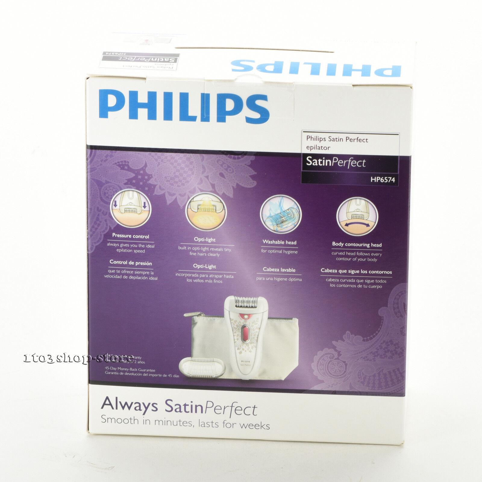 philips satin perfect epilator manual