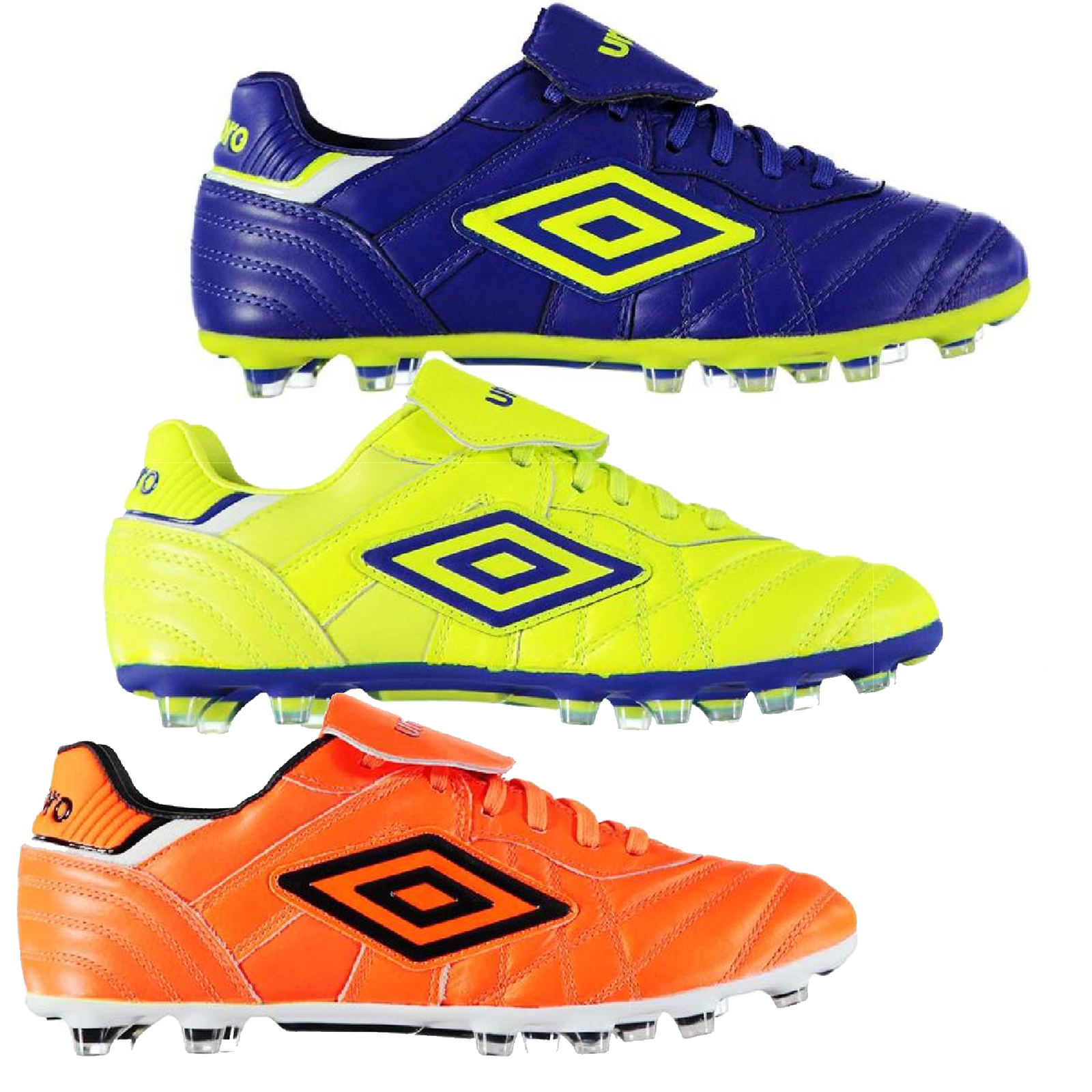 UMBRO Scarpe Calcio Calcio scarpette da calcio uomo FG Firm Ground Football 022