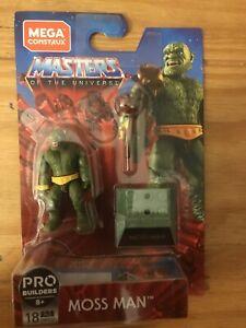 MOSS MAN Mega CONSTRUX motu megabloks NEW he-man HEROES masters of the universe