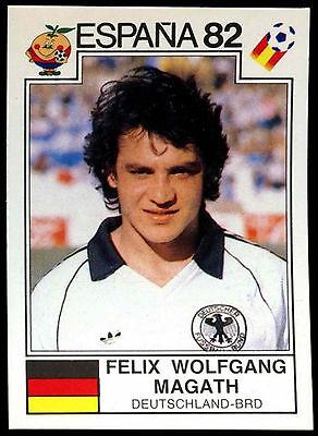 C350 Wolfgang Felix Magath Deutschland-BRD #189 World Cup Story Panini Sticker