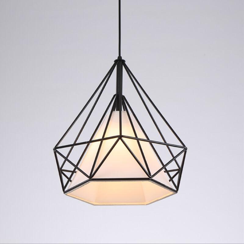 Stile moderno metallo geometrica della gabbia soffitto a for Stile moderno della prateria