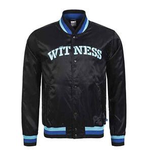 Nike-Witness-Soldat-Boutonne-Nylon-Hommes-Veste-Aviateur-Noir-338577-010-P0