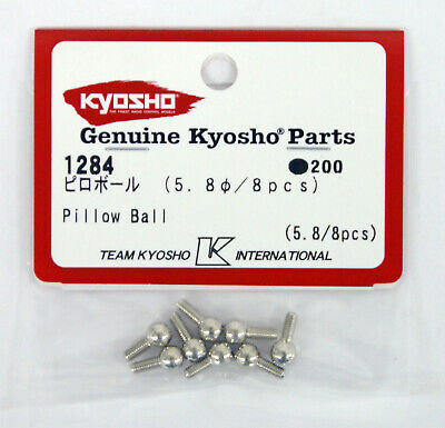 Kyosho 5.8mm Pillow Ball Silver Package of 8pcs