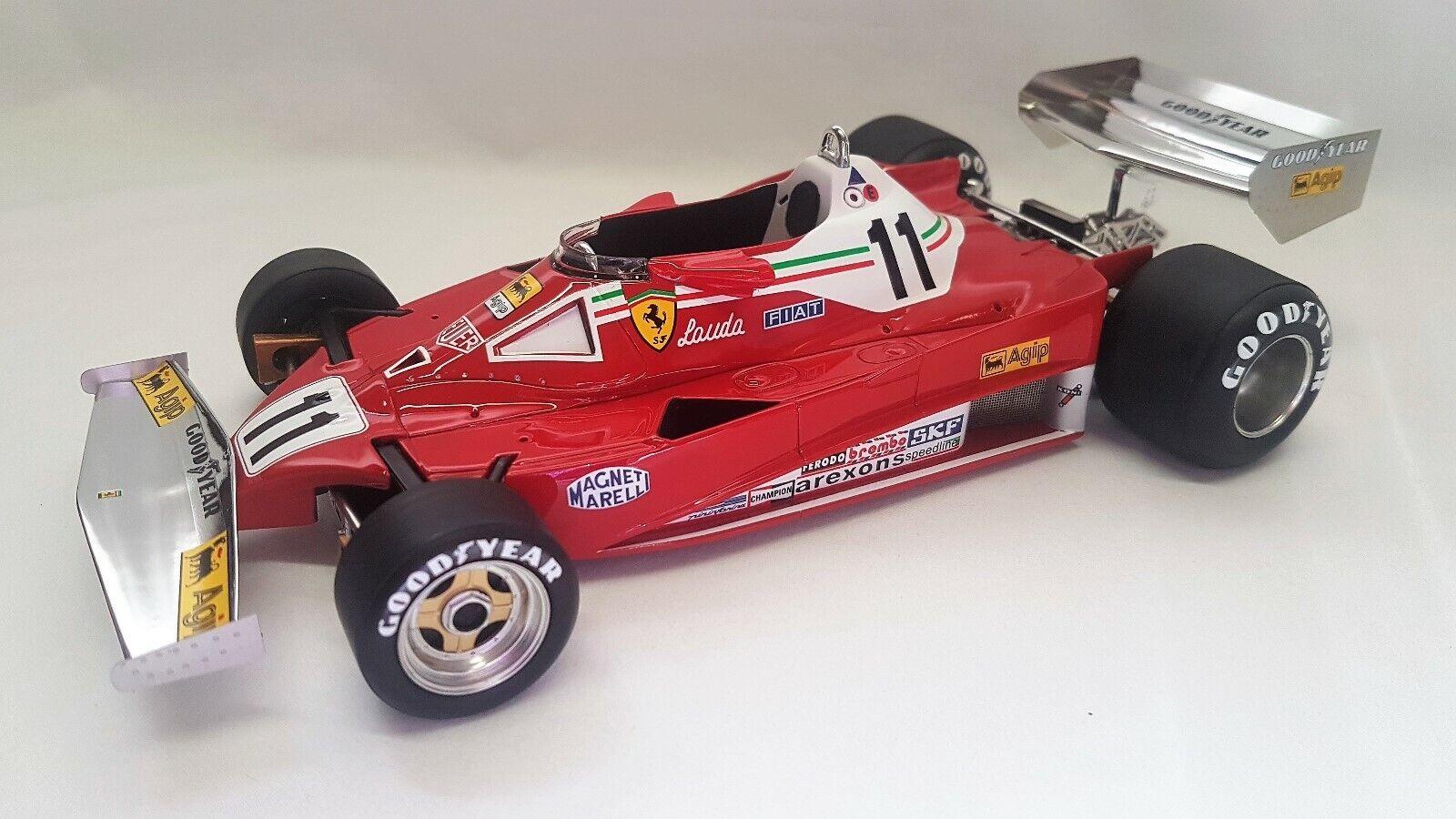GP Replicas GP14D - Ferrari 312T2 car  11 Niki Lauda 1977 (F1 World Champion)