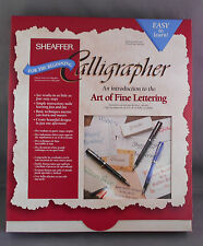 Sheaffer Vintage No-nonsense Boxed Calligrapher Set-NEW OLD STOCK