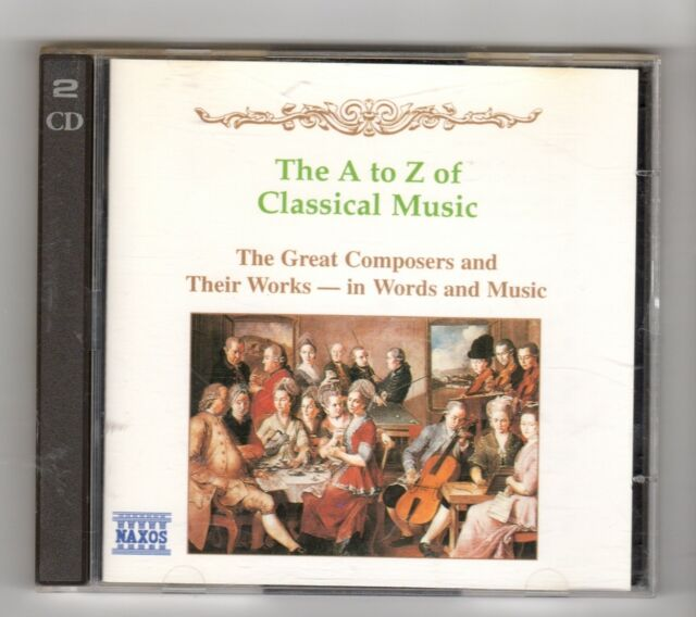 (ID977) The A To Z Of Classical Music, 22 tracks - 1995 double CD