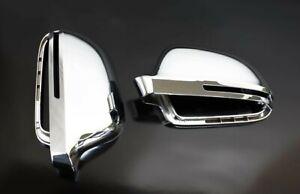 Audi A5 S5 B8 Alloy Matt Wing Mirror Door Caps Cover Trim Case Housing S Line 07