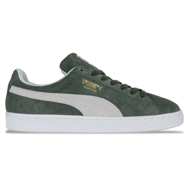 38ad2a04273e PUMA Mens Castor Grey Suede Classic Trainers Size (6 - 11) UK 10 for ...