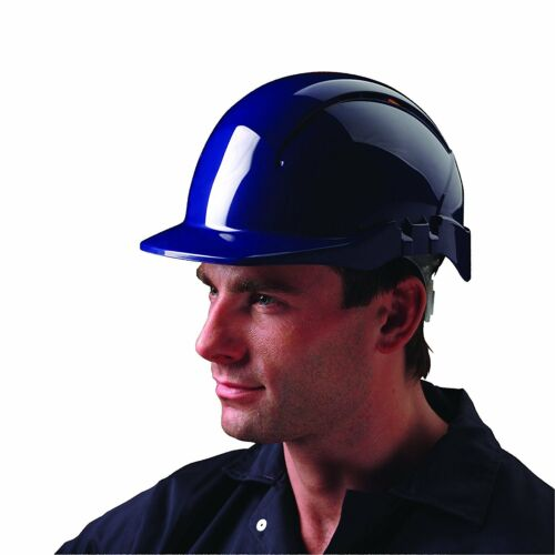 Centurion S09BF Concept Vented Full Peak Safety Helmet Blue
