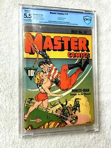 Master-Comics-14-cbcs-5-5-May1941-cream-off-white-Frank-Brunner-collection