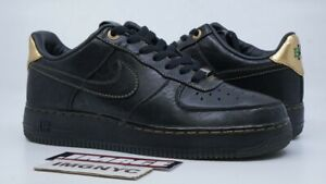 Details about NIKE AIR FORCE 1 LOW PRM USED SIZE 8 BHM PREMIUM BLACK HISTORY MONTH 453419 007