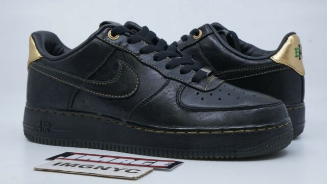 hot sale online 0b7f8 ad5df NIKE AIR FORCE 1 LOW PRM USED SIZE 8 BHM PREMIUM BLACK HISTORY MONTH  453419-007