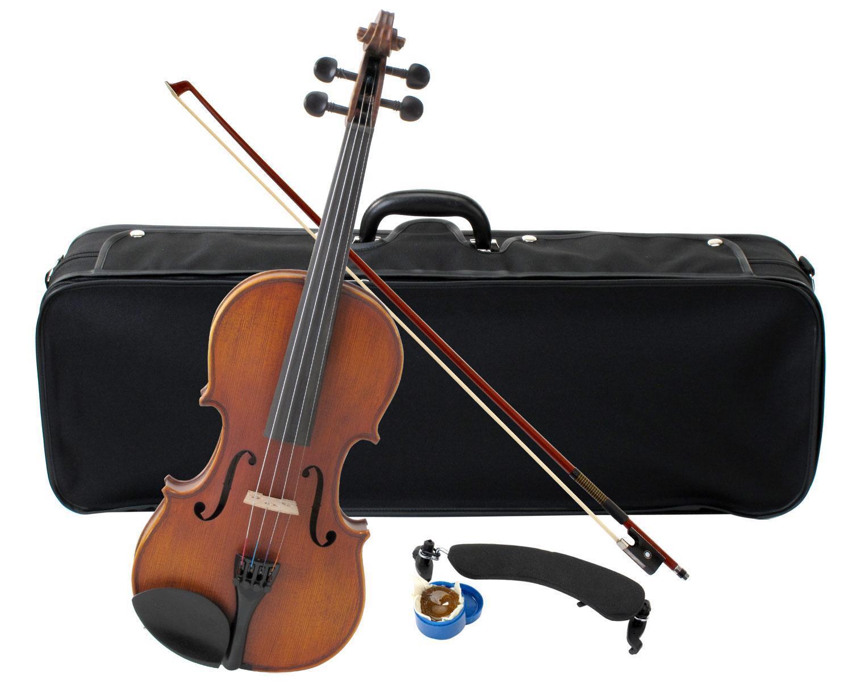 lo stile classico Geigenset 3 4 Violino Violino Violino Violino Set violinenset VALIGIA arco Massive abeti soffitto  acquistare ora