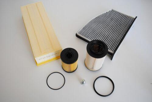 Inspektionspaket Inspektionskit Filter Set Skoda Octavia RS Combi 2,0 TDI 125KW