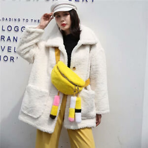 Casual-Women-Real-Rex-Rabbit-Fur-Belt-Bag-amp-Fanny-Pack-Sweet-Lady-Crossbody-Bags