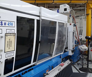 2005 Engel 450 Ton Two Shot Two Color Injection Molding Machine Ebay