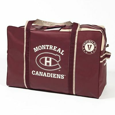 Montreal Canadiens Original Six Vintage Logo HOCKEY EQUIPMENT BAG Sher-Wood NEW
