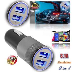 Nuevo-Dual-USB-Cargador-de-coche-3-1A-2-Puerto-Carga-Universal-para-Samsung-iPhone-HTC