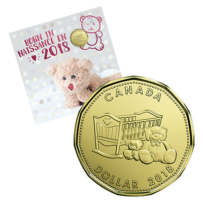 Canada 2012 Your New Baby Coins Gift RCM Mint Set.