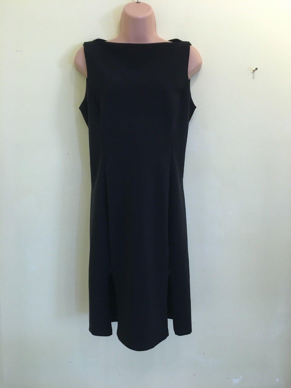 Diane Von Furstenberg Stunning Dark Navy AUDRINA Bodycon, Sheath Dress Size