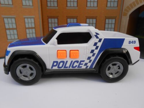 PERSONALISED PLATES POLICE CAR SOUNDS LIGHTS Toy Car MODEL boy girl BIRTHDAY NEW