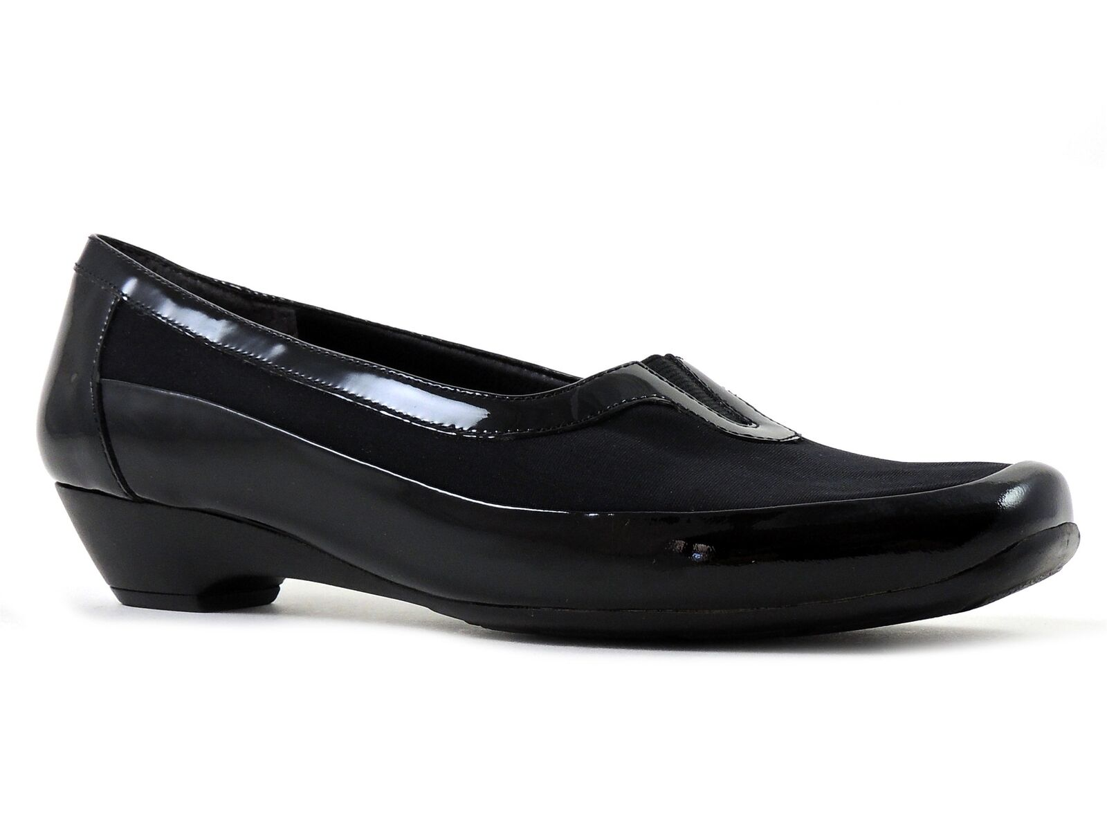 Easy Spirit Mujer Emmie Charol Negro Talla 6 M M M Mocasines  perfecto
