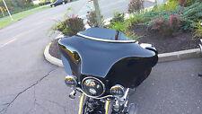 """New design for 1996-2013  3"""" Harley Davidson Windshield  Black Lancer  FLH"""