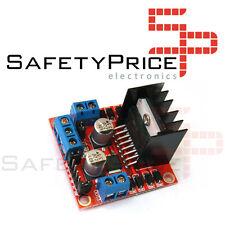 Controlador L298N, driver controlador doble puente H, Ideal Arduino