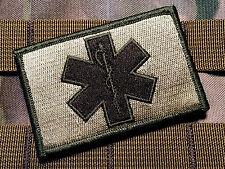 Tactical Multicam EMT Paramedic 2x3 Inch Hook/loop Military Morale Patch