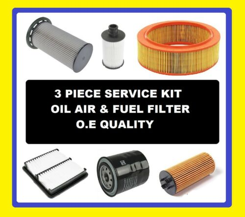 Oil Air Fuel Filter Citroen C3 Petrol 1.2 VTI 82 2012,2013,2014,2015,2016