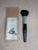 Ultima Ii Daily Applicator Face Brush Black Pouch Natural Hair Full Size