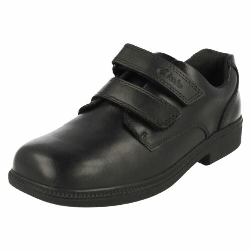 Boys Clarks Hook /& Loop Smart School Shoes Deaton Gate