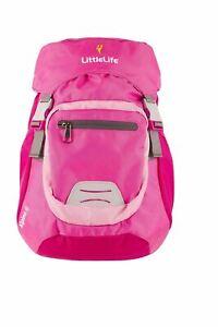 LittleLife-Childrens-Alpine-4-Pink-Kids-Daysack-Rucksack-Back-4-Litre-Capacity