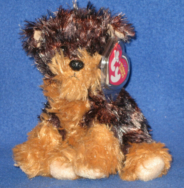 75d0134f6c6 Ty Tyger Yorkie Dog Yorkshire RARE Brown Version 7