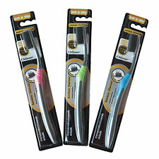 3x Bamboo Charcoal Toothbrush Ultra Soft & Slim Nano Oral Care 0.01 Mm