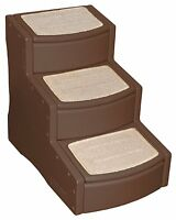 Pet Gear Easy Step Iii Pet Stairs, 3-step/for Cats And Dogs Up To 150-pounds, Ch