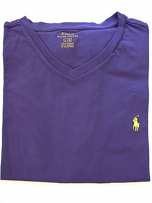 Polo Ralph Lauren T Shirt NWT Mens cotton V neck short sleeve S, M, L, XL, 2XL