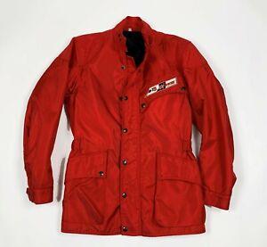 Dainese-giacca-donna-moto-usato-S-tg-42-imbottita-vintage-moda-retro-sport-T6303