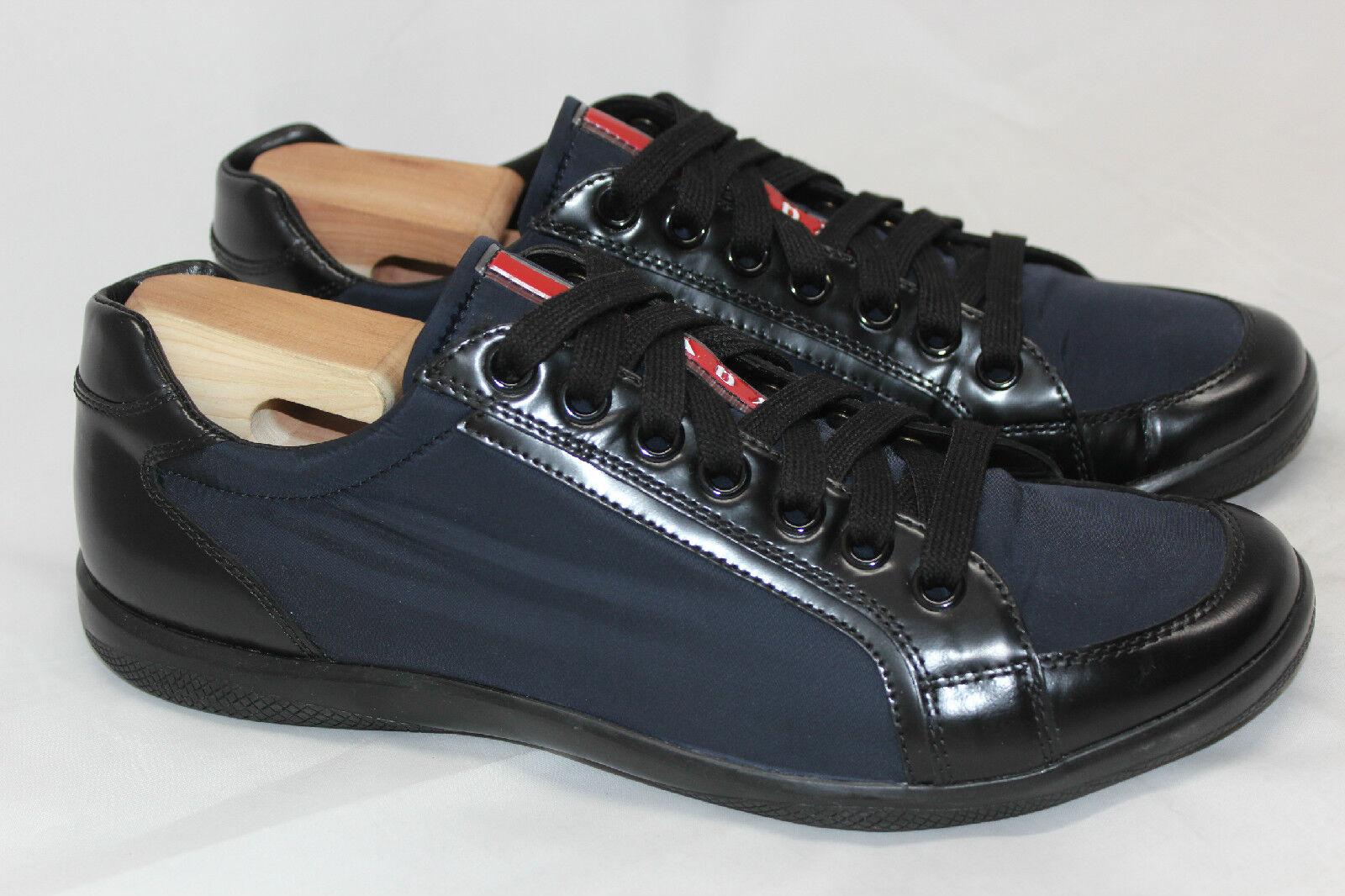 Prada 'Offshore' scarpe da ginnastica Lace Up - Navy blu - 8US   7E 2439 (V4)